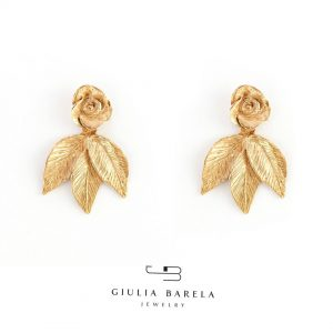 3. Indian Rose earrings